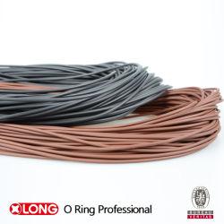 Het zwarte/Bruine RubberKoord van de O-ring Viton/FKM voor Verkoop