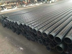 LSAW/gerade geschweißtes Kohlenstoffstahl-Rohr mit Gefäß der Beschichtung-3PE für Brücken-Bauvorhaben