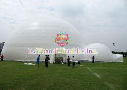 Yourte gonflable Leyuan grand dôme gonflable portatif parti