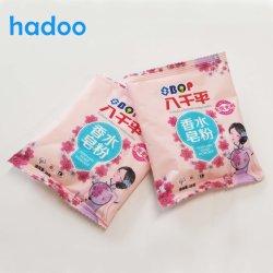 Nice parfum fort Multi-Purpose détergent en poudre à laver de blanchisserie 30g 50 g 80 g personnalisés Sacs Smart