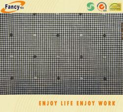 100% algodão Fashion Pequenas Verifique fios Jacquard tecido tingidos