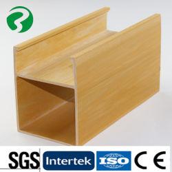La madera del techo techo de plástico en la Oficina Salón