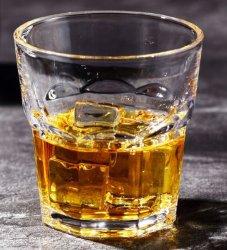 250ml personifiziertes Firmenzeichen-runder unterer Whisky-Glaskreis-Glas-Cup