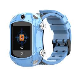 멋진 스포츠카 쉐이프 VoLTE 비디오 통화 하이 엔드 원 SoS Smartwatch for Child(소아의 SOS 스마트워치) 를