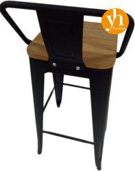 Restaurante Ocio aluminio Silla de la barra de asiento de madera muebles de exterior patio jardín Batyline