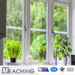 Настраиваемые UPVC/ПВХ профиля двойной закаленного стекла пластиковые окна дверная рама перемещена