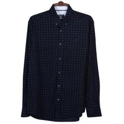 Gesponnener Kordsamt der Männer des Hemd-100%Cotton mit Allover Druck