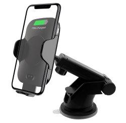 10W la inducción magnética Wireless cargador rápido montaje para el coche Sensor de infrarrojos Wireless cargador de coche