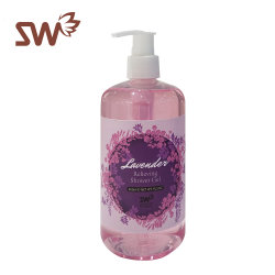 La pelle di cura di pelle che imbianca la lavanda rinfresca l'imbiancatura del gel dell'acquazzone