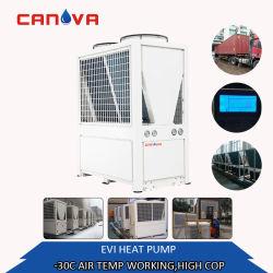 Riscaldatore di acqua commerciale della pompa termica con il riscaldamento/funzione di raffreddamento per uso della costruzione