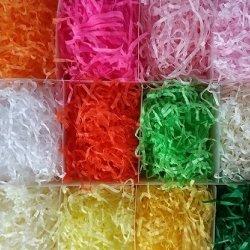 2bags de het natuurlijke Decoratieve Ambacht Verscheurde Vakje van het Suikergoed van de Raffia van het Document van de Kreuk/Partij van de Vuller van het Papieren zakdoekje van het Vullende Materiaal van de Gift verfraait