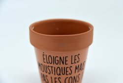 La arcilla para interiores y exteriores Maceta de cerámica de maceta de terracota de la sembradora de jardín