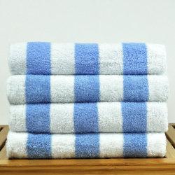 Jacquard de lujo de algodón toalla Toalla Toalla de playa toalla Hotel