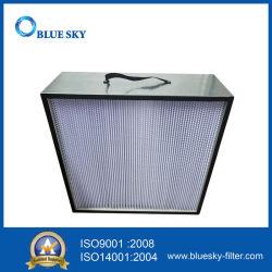 filtro profondo dalla casella H13 HEPA della piega del blocco per grafici dell'alluminio di 665*670*230mm