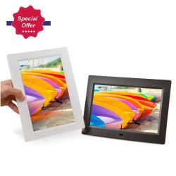 Pantalla LCD de pantalla IPS de nuevo Marco de fotos digital de 7 pulgadas con retroiluminación LED