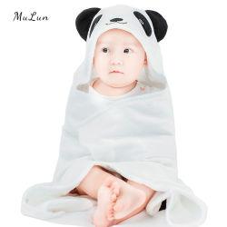 Set di asciugamani con cappuccio in microfibra Animali da spiaggia Bambini Towel in microfibra Con testa di orso