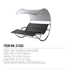 El doble de Patio de balancín de sillones chaise lounge sillas de playa