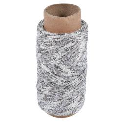 Tresse de creux Lurex acrylique et de filés de polyester