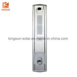 60W Smart LED-lamp voor interieurverlichting met bewegingssensor en bewakingscamera Opgeladen door Solar Panel, alles-in-Één