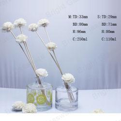 Het Duidelijke Glas van uitstekende kwaliteit om de Fles van de Verspreider van het Aroma van de Vorm