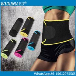 Colorida correa ajustable de recortador de gimnasia para adelgazar la cintura neopreno