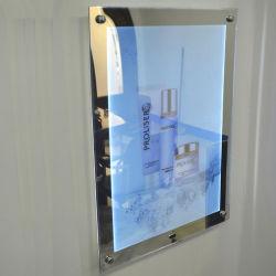 L'intérieur de l'enregistrement d'alimentation LED étrange miroir magique Boîte à lumière