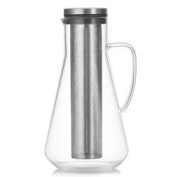 Cold preparar café Café Carafe de vidro com tempo frio Infuser preparar uma jarra de café