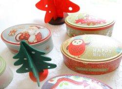 長円ハンドメイドキャンデーのケーキの鉄ボックス結婚式の好意の錫のクリスマスの新年のギフト