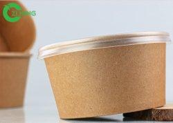 カスタム使い捨て可能な卸し売り二重PEのコーティングのクラフト紙のコップ、ペーパボール