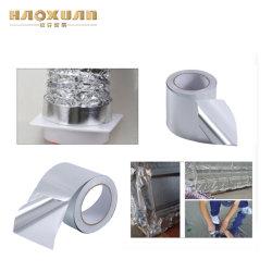 Résistant à la chaleur ruban en aluminium renforcé, 80 microns ignifugé Mylar ruban en aluminium/aluminium ignifugé ruban