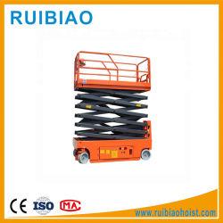Гидравлический вертикальный Электрический подъемный стол ножничного типа малых грузовых элеватора соломы