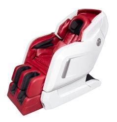 Le luxe Reluex 3D Full Body Music fauteuil de massage Shiatsu de rouleau de pied de thérapie de chauffage électrique repose-pieds d'extension Zero Gravity mur zéro Hugging économiser l'espace le plus récent