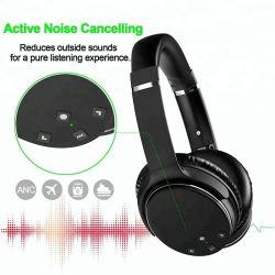 L'ANC Casque sans fil active Over-Ear écouteurs antibruit stéréo hi-fi