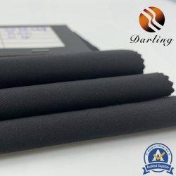Grs 75D RPET bereiten Polyesterspandex-Ausdehnungs-Gewebe für Kleid auf