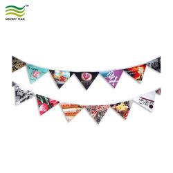 Carta di cotone poliestere personalizzata PVC Festa di compleanno decorazione di Natale di nozze Fans Flag String Pennant Bunting (B-NF11F06029)