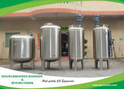 خزان تخزين المياه من الفولاذ المقاوم للصدأ الدرجة الغذائية لمبيت فلتر معالجة المياه