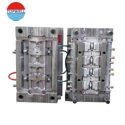 中国型の工場はダイカストの工具細工部品の世帯のための二重プラスチック注入型かMolding CompanyのPP/POMの電子製品をカスタム設計する