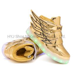 Winter-Plüsch-warme Kind-Schuhe mit LED-grellem Licht