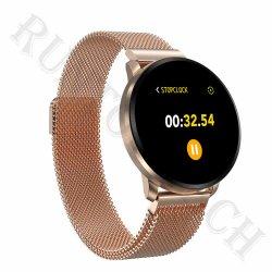 CF68 de mannen maken Het Slimme Horloge van het Tarief van het Hart van de Vrouwen van de Sport van de Bloeddruk voor Androïde Ios waterdicht