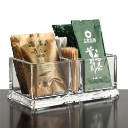 Прозрачным акриловым чай пакет дисплей коробка для хранения