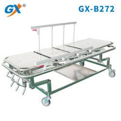 Больницы из нержавеющей стали Hi-Low передвижного стола для перемещения пациента