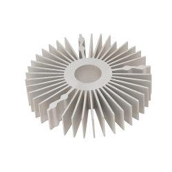 Dissipateur thermique en aluminium OEM personnalisés dissipateur en aluminium led en aluminium extrudé
