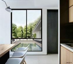 Grand écran en aluminium vitre coulissante de nouvelle conception de la Villa