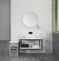 Cub900*500*412mmは、熱い販売のキャビネットの固体表面の水晶石塀新製品の現代浴室をハングさせた