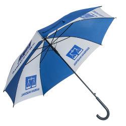 まっすぐな傘を広告するカスタマイズされたプラスチックハンドルの安い低価格