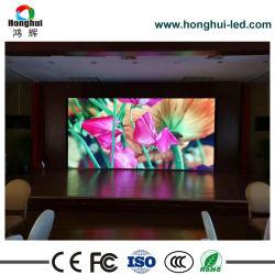 3840Hz Taxa de atualização da tela do monitor LED HD LED P2.5 interior da parede de vídeo outdoors publicitários