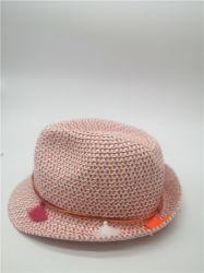 Мода Colofurl бумаги Red Hat с диапазона Tasseles соломы