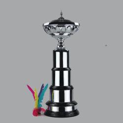 2019金張りのクラフトの記念品の創造的な金属のトロフィの学校は記念品を遊ばす