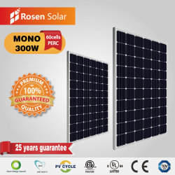 Mono de Perc Panel Solar 280W 290W 300Wp fabricar un panel solar