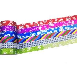 Qualität Bomei fertigen die Geschenk-Verpackung Washi/Hologramm-Band kundenspezifisch an